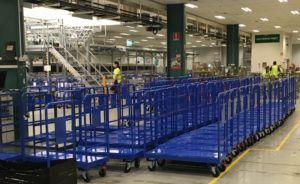 Australia Post Custom Warehouse Trolleys