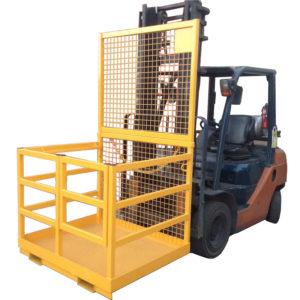 Forklift Safety Cage Rail Sides