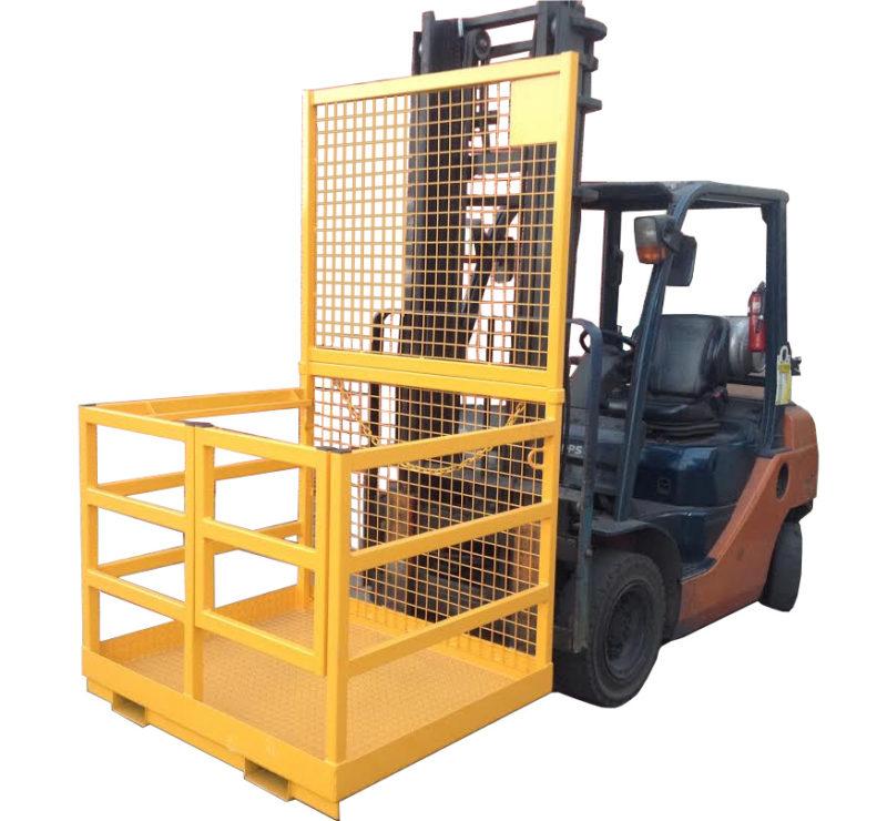 Forklift Safety Cage Rail Sides