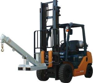 Forklift Adjustable Swing Jib