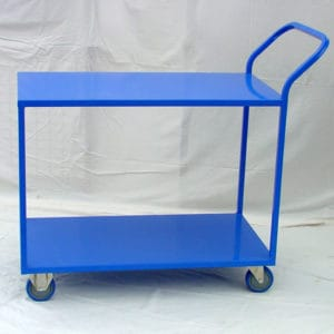 2 shelf transit trolley