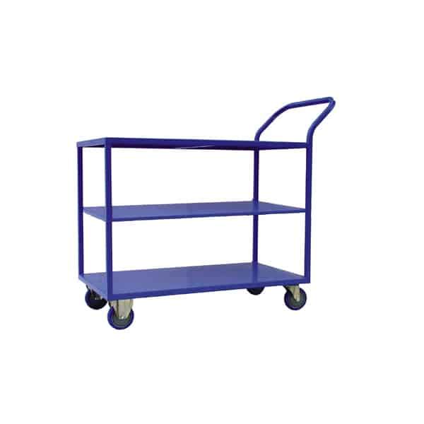 3 shelf transit trolley