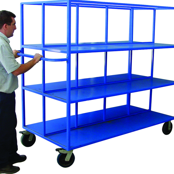 large warehouse trolley