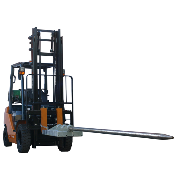 forklift carpet pole