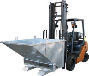 Crane & Forklift Tipper Bin - JS