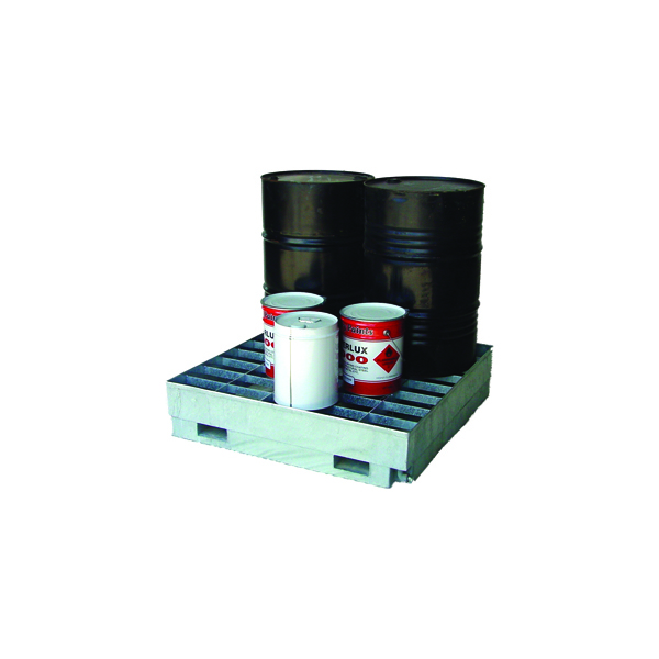 Spill Containment Pallets- 4 Drum