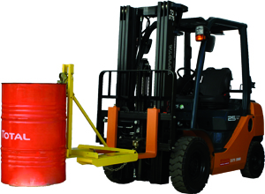 Forklift Drum Handler - Light Duty - S