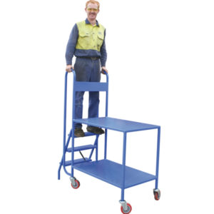 step pick trolley