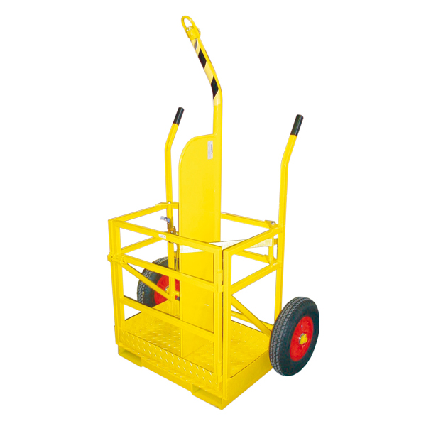 gas cylinder trolley twin