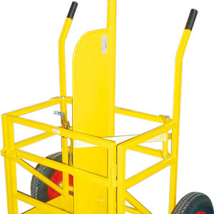 Gas Cylinder Trolley - Twin (Crane / Forklift)