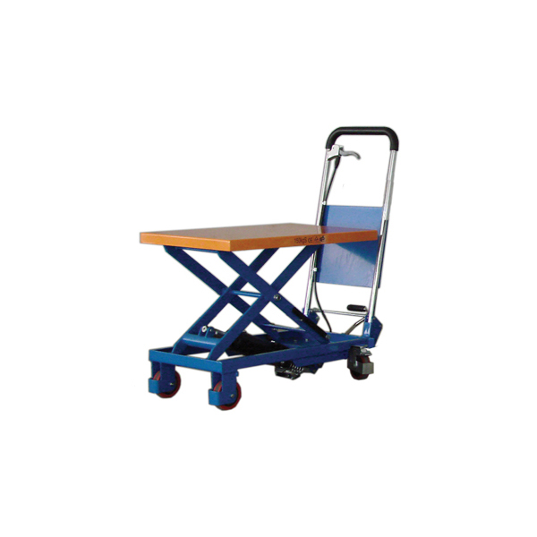 scissor lift platform trolley