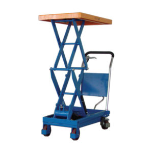 medium scissor lift platform trolley