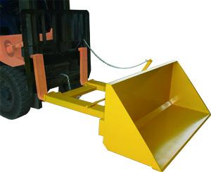 Forklift Bucket Attachment