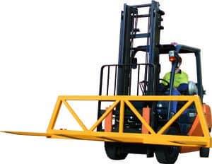 Forklift Spreader Beam (with headboard)