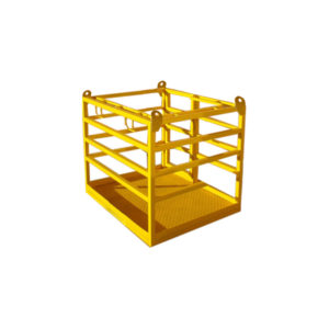 crane lift man cage no roof