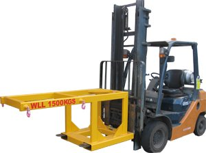 Forklift Bulk Bag Lifter (Raised)