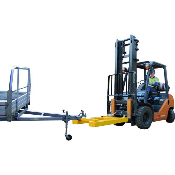 forklift towball attachment