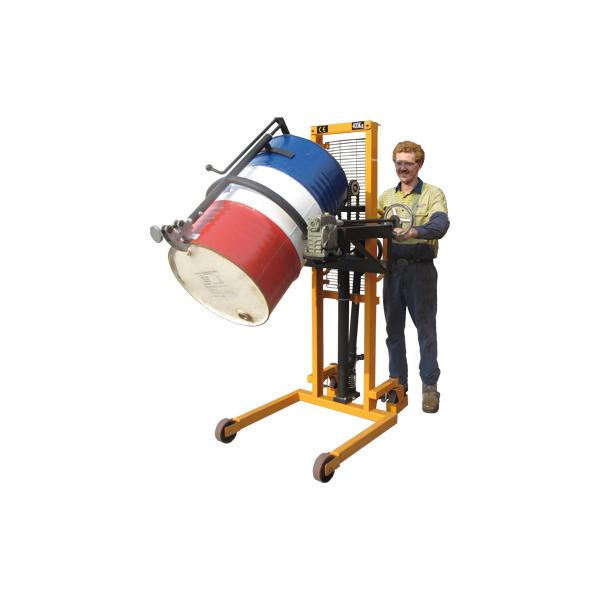 portable drum rotator