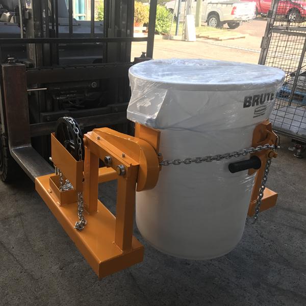 Light Duty Forklift Drum Rotator