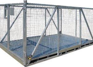 Large Goods Cage Crane Lift