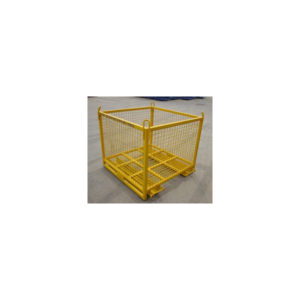 cage for forklift and crane lift