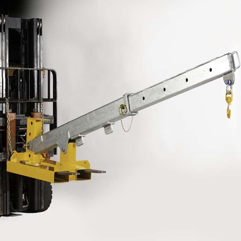 Bremco forklift adjustable jib