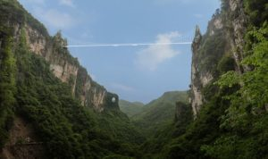 Zhangjiajie Glass Bridge is the longest glass pedestrian bridge in world