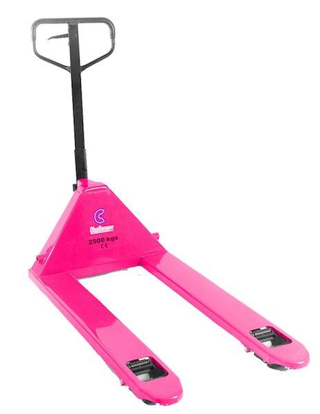 challenger hand truck pallet pink