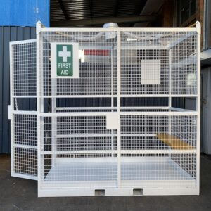 crane first aid rescue cage