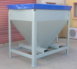 Custom Designed Hopper 2 Cubic