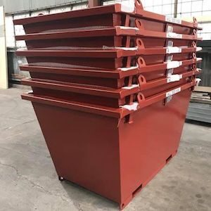 Bremco Dumpmaster Crane Lift Site Bin