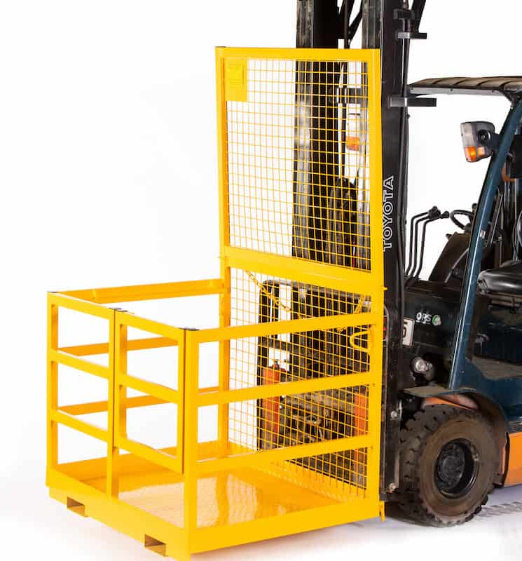 Bremco Forklift Safety Cage with Rails