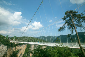Construction wonders: The Zhangjiajie Glass Bridge