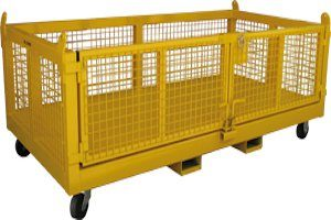 Goods Cage Double Pallet