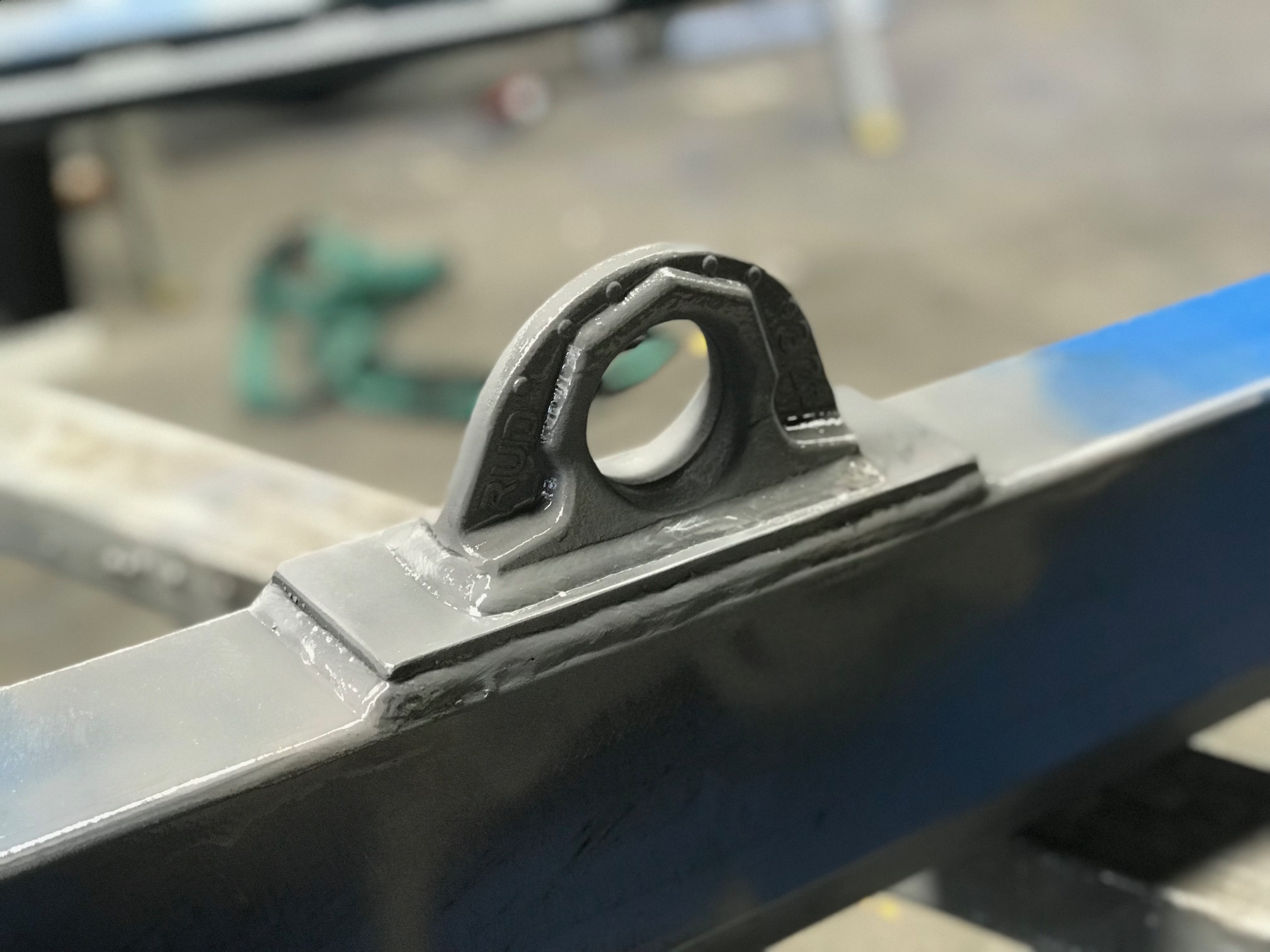 welded correctly lifting point