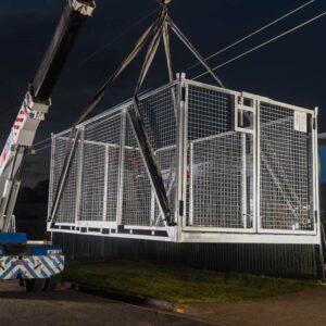 Bremco large goods crane cage