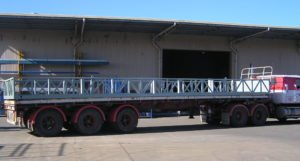 Customised large truck pallets