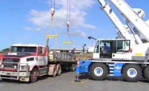 Large truck pallet load testing