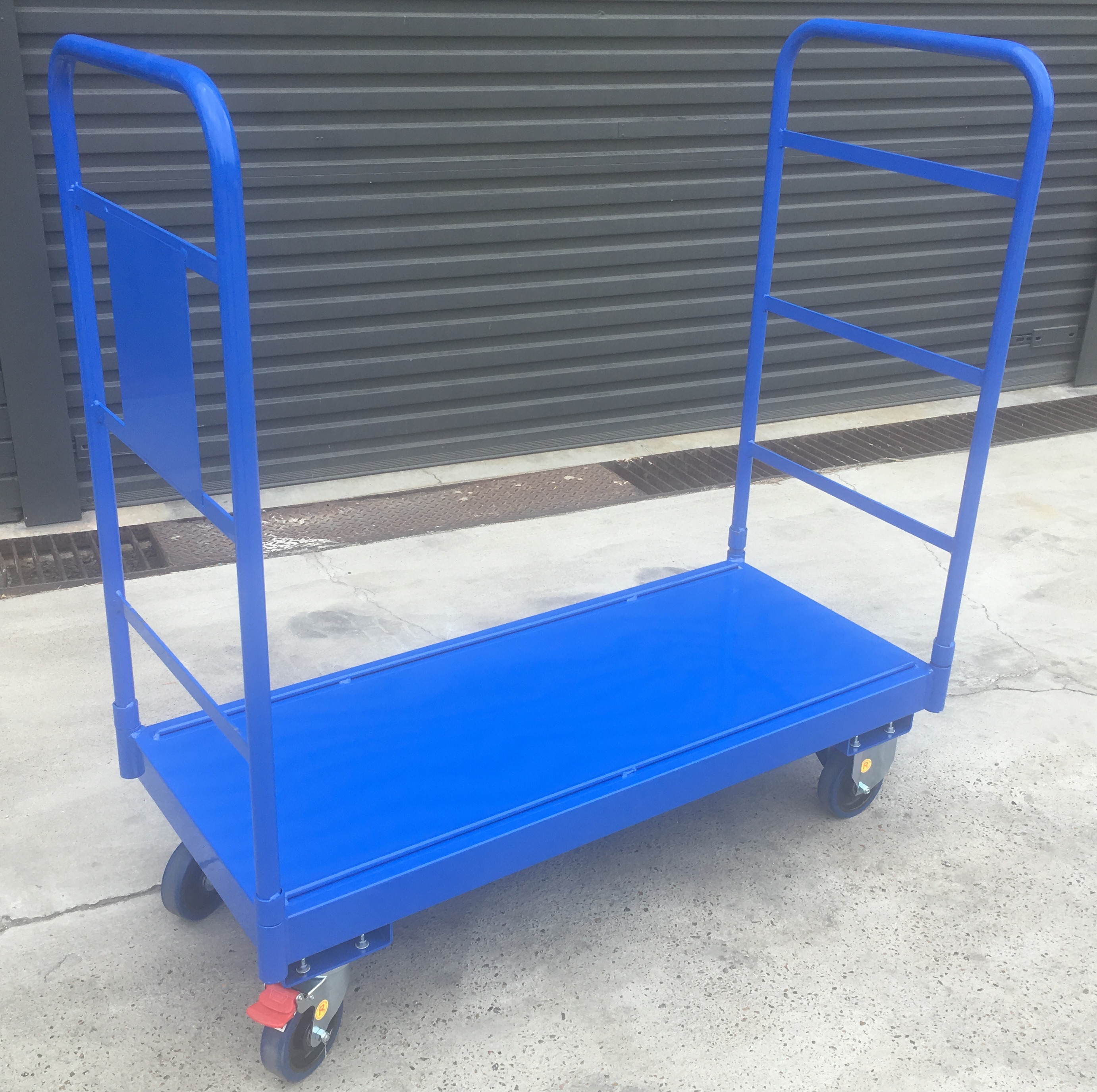 Bremco custom warehouse trolleys
