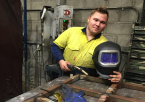 Bremco team member shines at WorldSkills welding competition