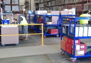 custom warehouse trolleys