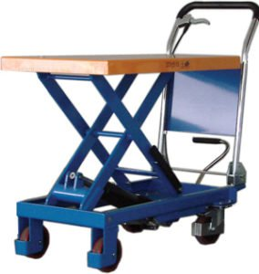 Large Scissor Lift Trolley to reduce common workplace injuries