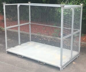 Bremco steel stillage rady for delivery to customer