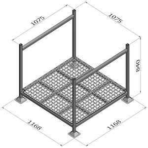 Stillage G70 - Mesh Base