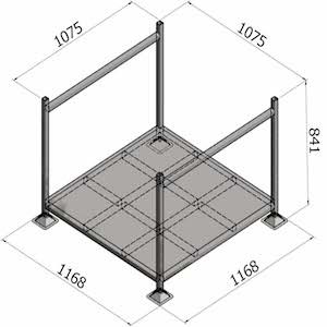 Stillage G70 - Sheet Metal Base