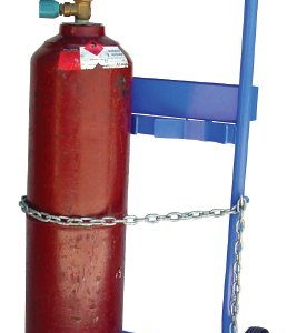 Double Gas Cylinder Trolley - E Size