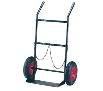 Double Gas Cylinder Trolley - G Size