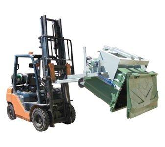 Forklift Wheelie Bin Tipper - BB