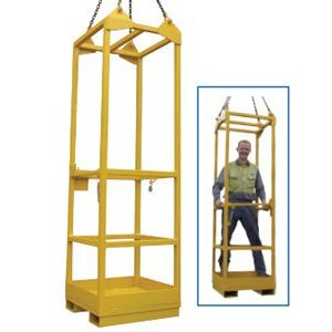 Crane Lift Single Man Cage