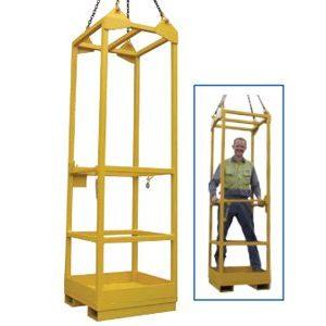 Crane Lift Single Man Cage
